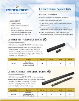 Thumb Direct Burial Splice Kits